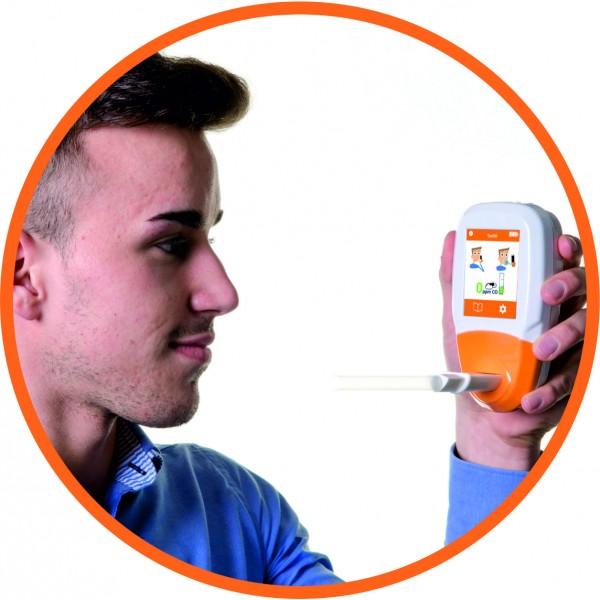 Analizor ToxCo pentru diagnosticarea intoxicației cu monoxid de carbon din aerul expirat al pacientului și din mediul ambiant
