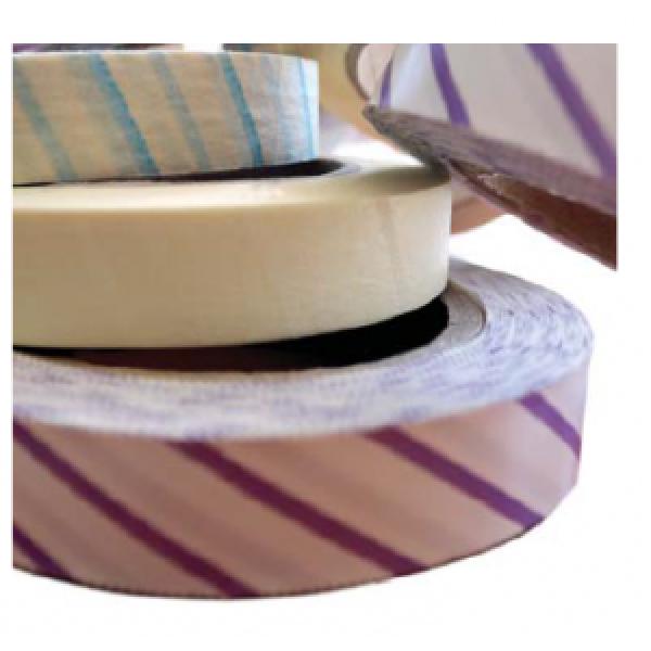 Banda adezivă autoclav cu indicator sterilizare abur 19mmx50m