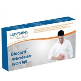 Biocard Helicobacter Pylori IgG -Test rapid pentru determinarea Helicobacter Pylori dintr-o picătură de sânge