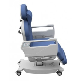 Electric medical chair with 4 motors