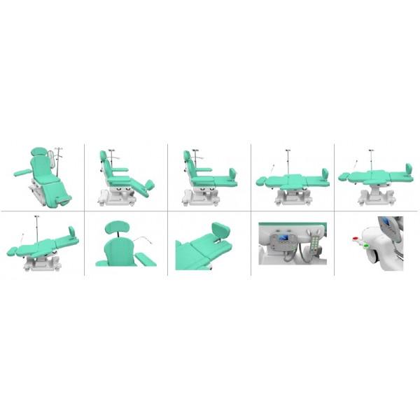 Fotoliu pentru dializa SMART07 cu 5 motoare